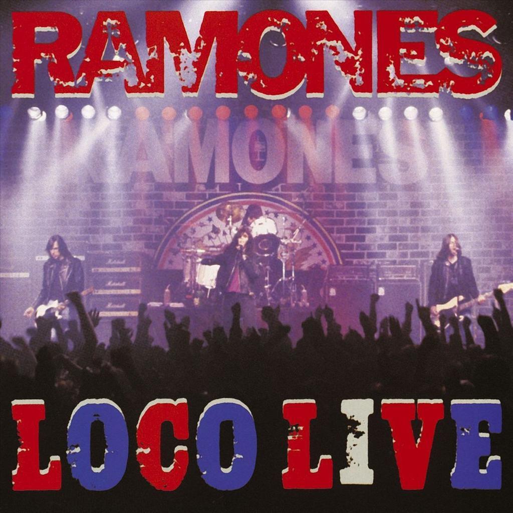 Ramones Loco Live Lp Pdv Records X Merchandise